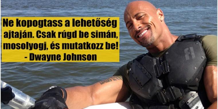 """10 inspirációs idézet Dwayne """"The Rock"""" Johnsontól!"""