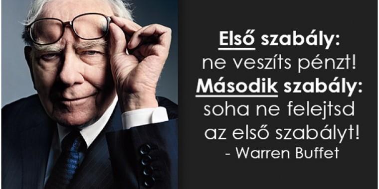 Íme a meggazdagodás titka Warren Buffett szerint
